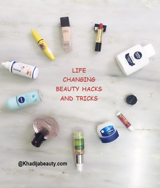 LIFE CHANGING BEAUTY HACKS AND TRICKS FOR GIRLS