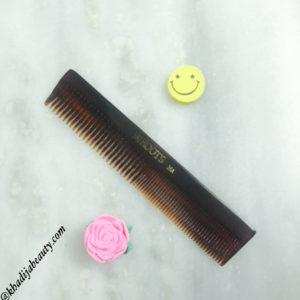 hair-care-routine-khadija-beauty, roots comb