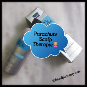 parachute scalp therapy review, khadija beauty