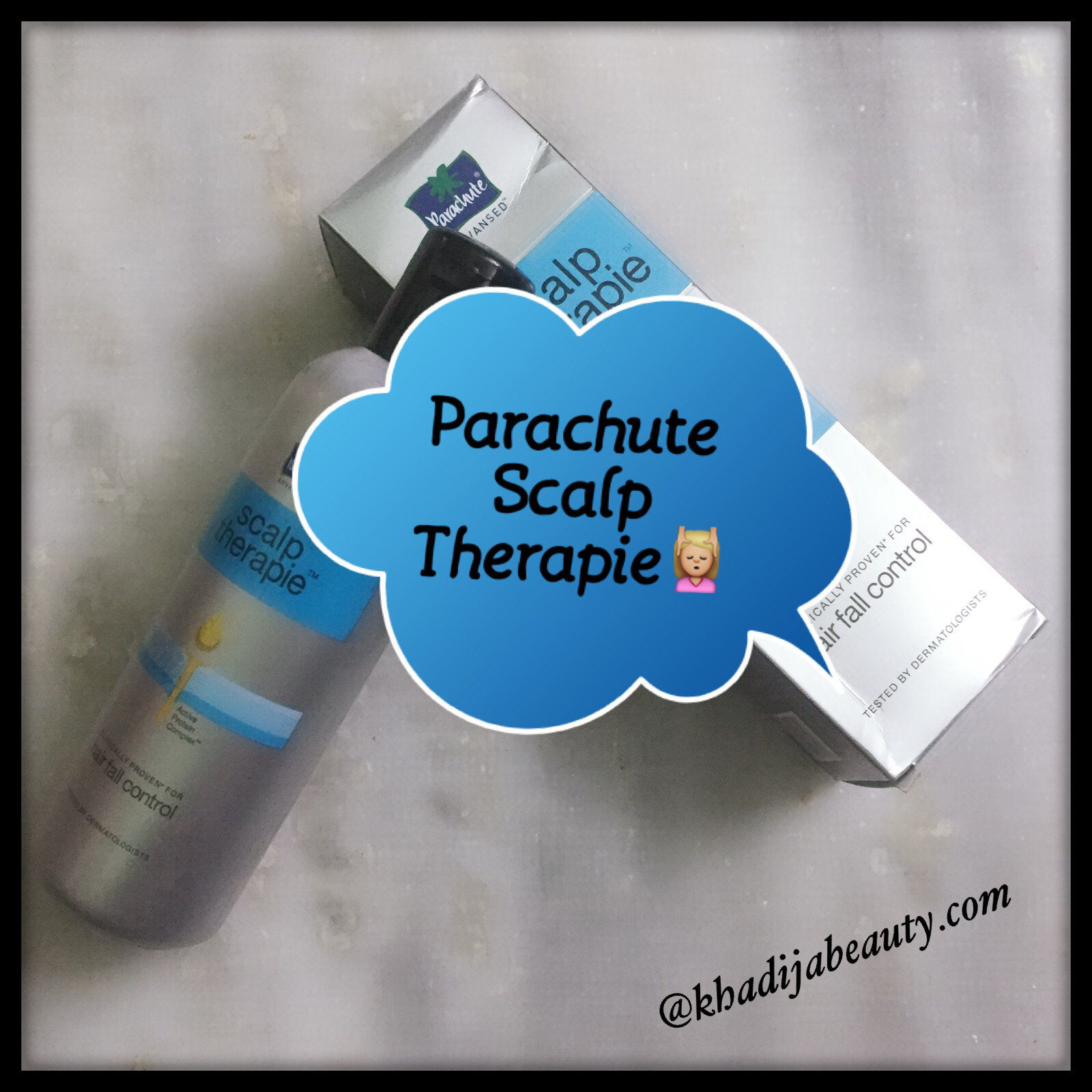 PARACHUTE SCALP THERAPIE REVIEW-ULTIMATE HAIR FALL SOLUTION