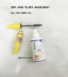 get rid of clumsy mascara