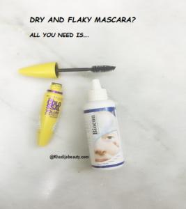 get rid of clumsy mascara