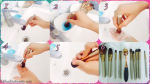 how-to-clean-makeup-brush-tutorial-khadija-beauty