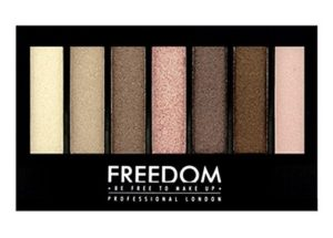 Freedom Makeup London Professional Eyeshadow Kit, Shade and Brighten Shimmers