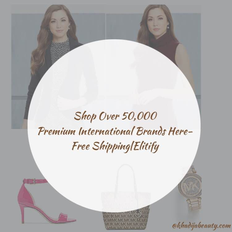 Shop Over 50,000 Premium International Brands Here- Free Shipping|Elitify
