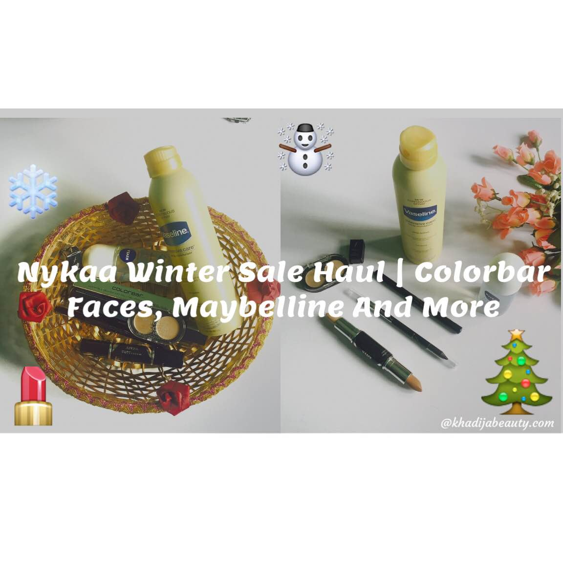 Nykaa Winter Sale Haul|Colorbar, Faces And More|Makeup and Skincare Haul