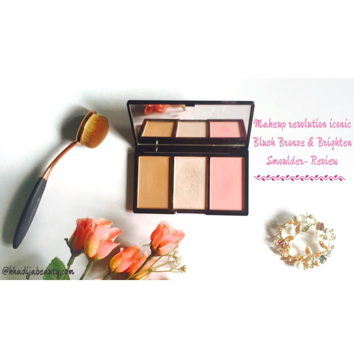 makeup-revolution-iconic-blush-bronze-and-brighten-review-swatches-khadija-beauty