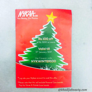 nykaa winter sale haul
