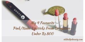 best pink/nude lipsticks, khadija beauty