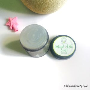 Greenberry organics mud ash 3 in 1 face care, khadija beauty