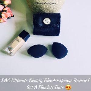 PAC ultimate beauty blender review, khadija beauty