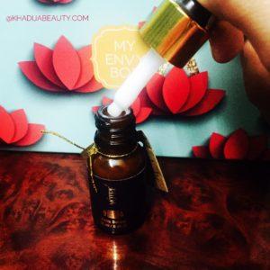 febraury envy box review, khadija beauty