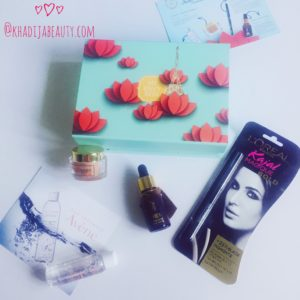 febraury envy box review, khadija beauty