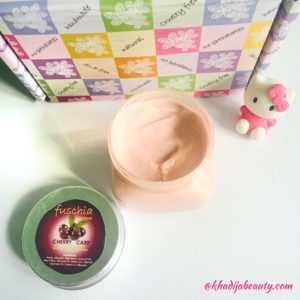fuschia hand and nail cream review, khadija beauty