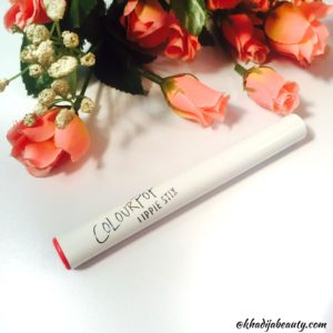 Colorpop lippe stix julep review and swatches, khadija beauty