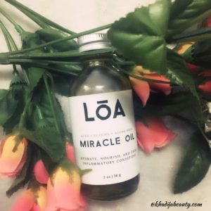 loa miracle oil review, khadija beauty, get rid of acne, best natural oil for dry skin, best natural oil for acne