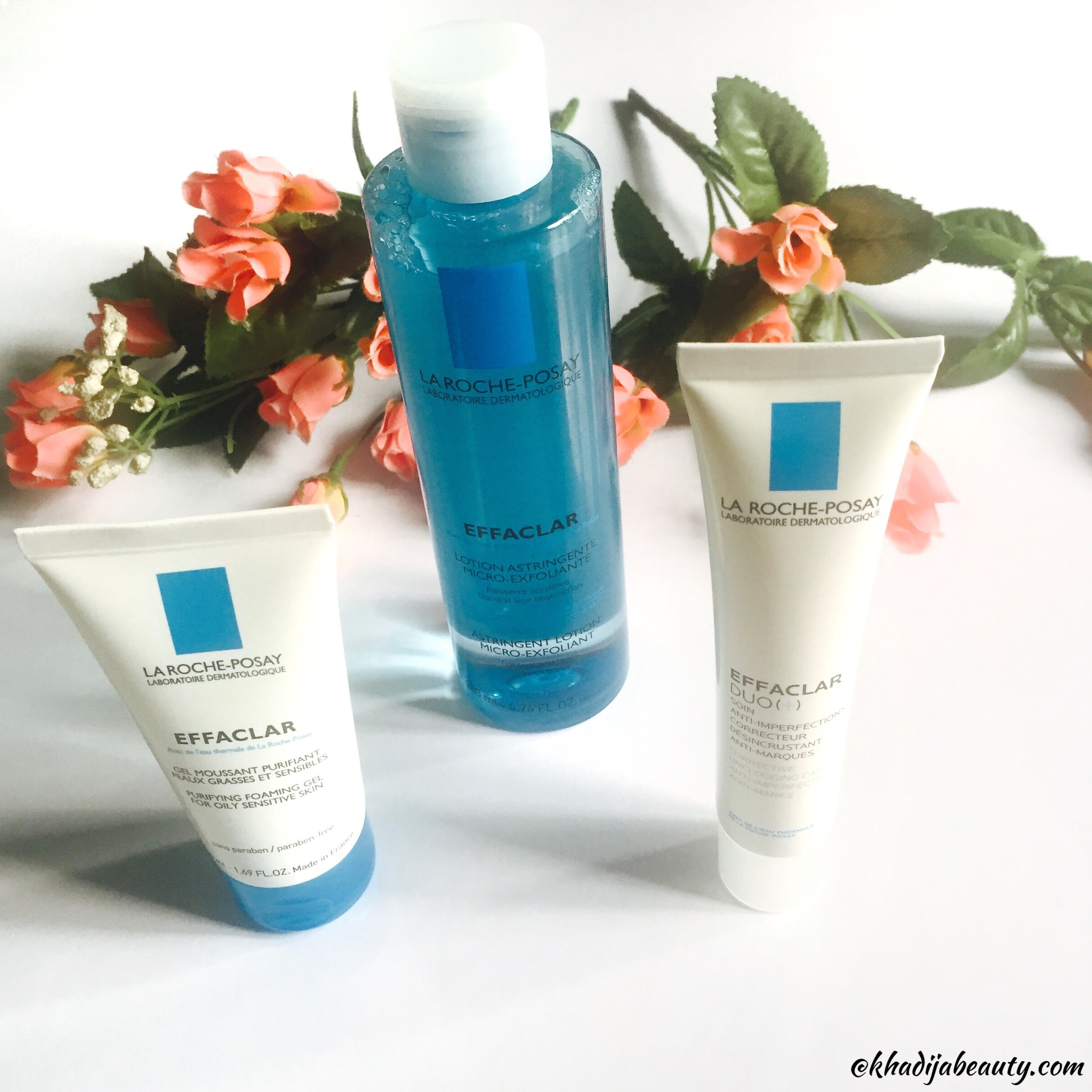 La Roche-Posay Effaclar Purifying Foaming gel, Toner and Effaclar Duo Review
