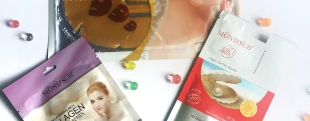 Mond'Sub facial sheet masks, khadija beauty, shaeet masks