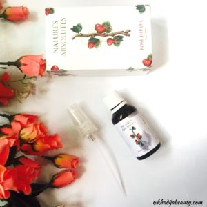 Natures absolute argan oil, rosehip oil review, khadija beauty, essential oils for skin and hair