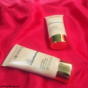 jovees silk foundation review, khadija beauty