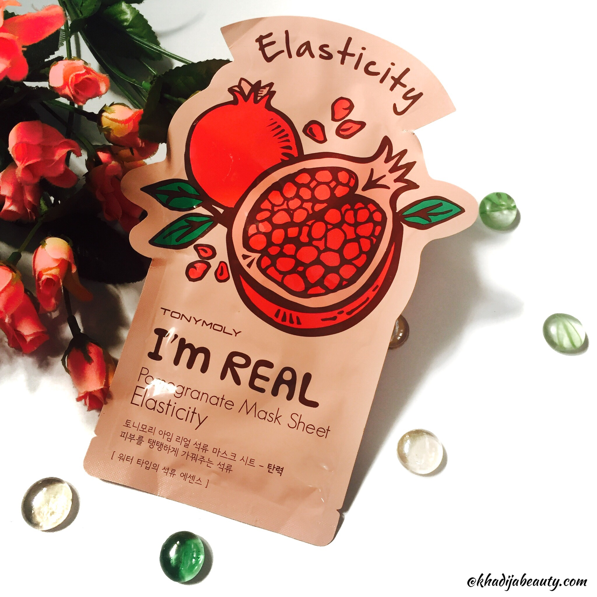 Tony Moly I Am Real face mask sheet review  Get a firm skin