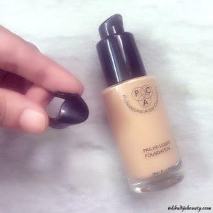 PAC HD liquid foundation review, khadija beauty