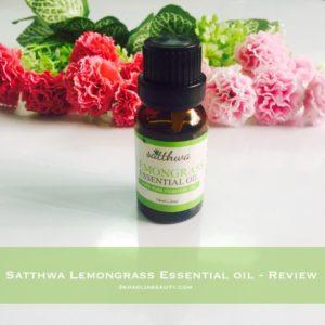 Satthwa lemongrass essential oil, khadija beauty