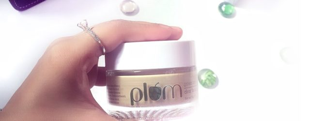 Plum green tea clear face mask, khadija beauty