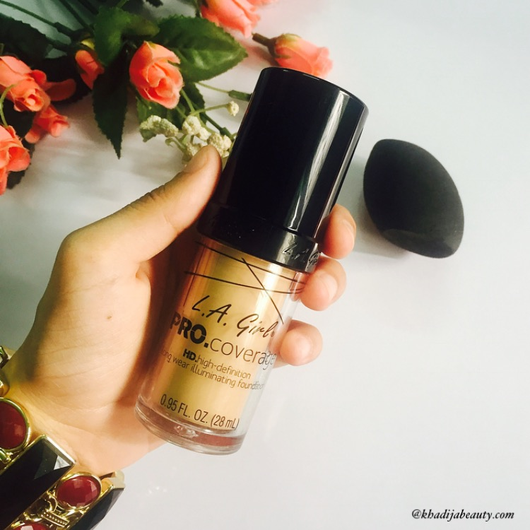 L.A girl Pro Coverage HD Illuminating foundation Review| Yay or Nay