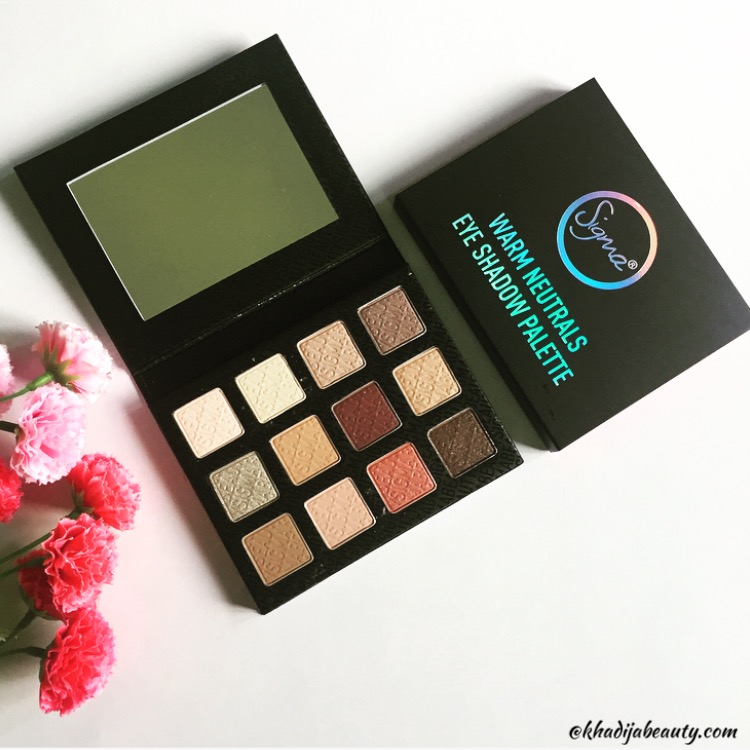 khadija beauty, sigma beauty, sigma eyeshadow palette