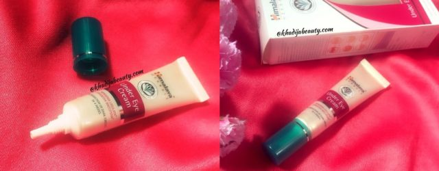 himalaya under eye cream review, khadija beauty