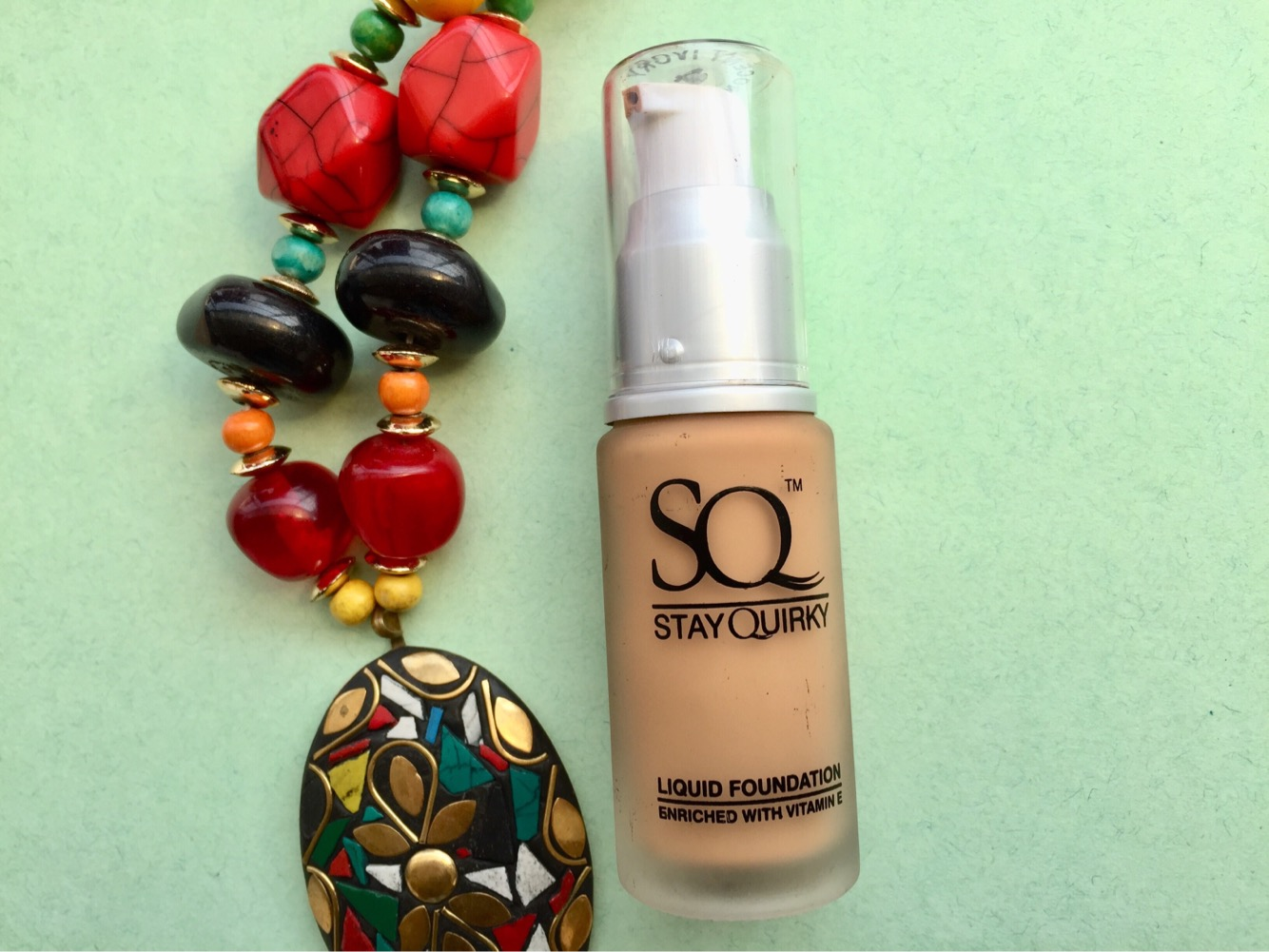 Stay quirky liquid foundation review and swatches| Rs. 245