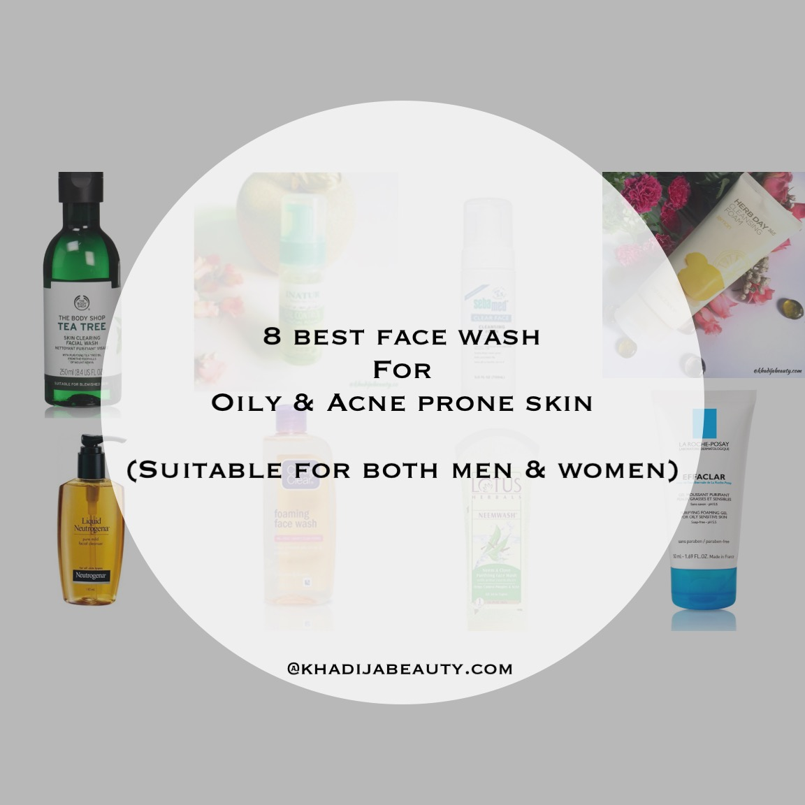 9 Best face wash for oily skin and Acne prone skin| Acne face wash