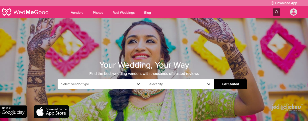 wedmegood, khadija beauty, wedding planning site