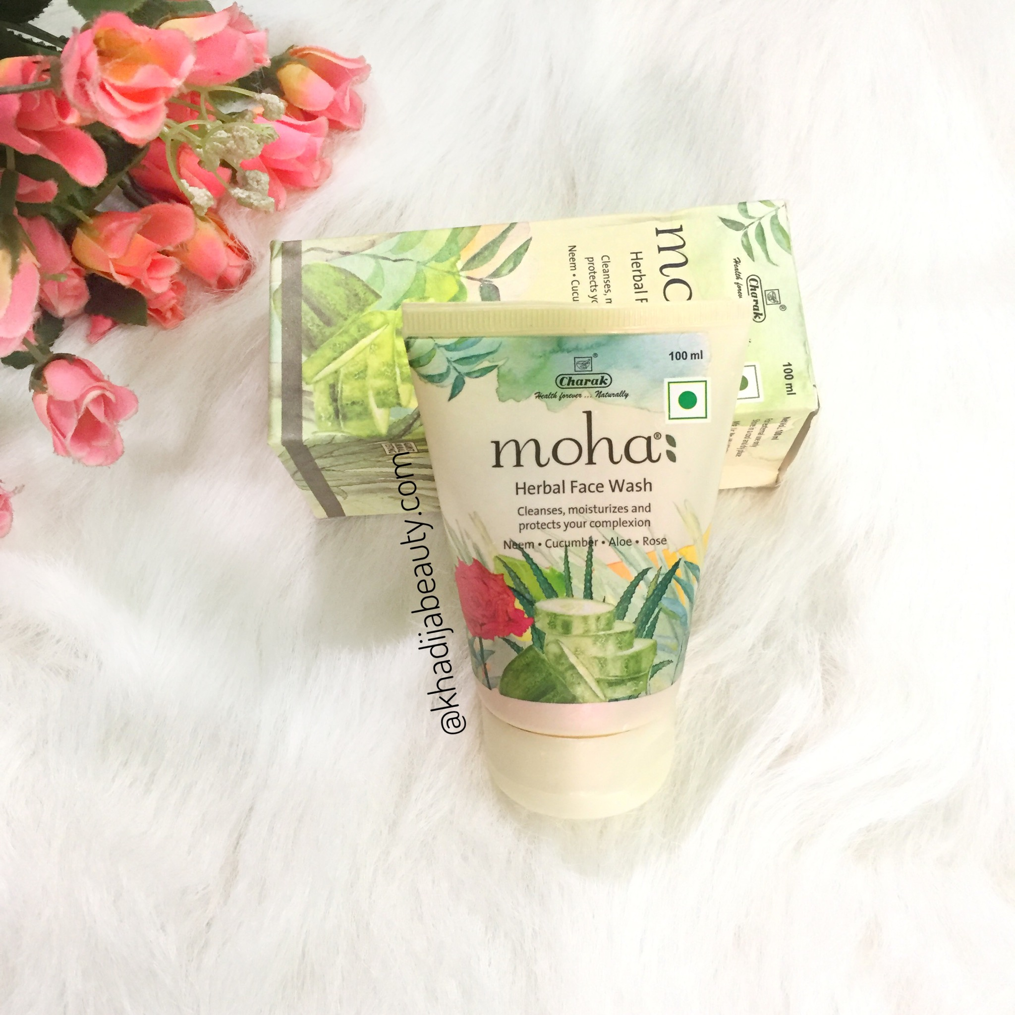 moha herbal face wash, khadija beauty