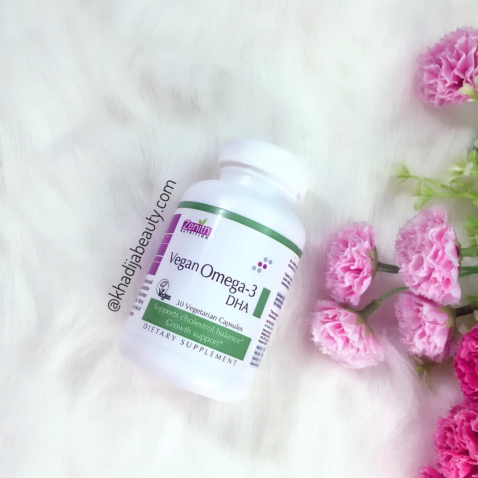 zenith nutrition omega-3 DHA review, khadija beauty, benefits of omega-3 DHA