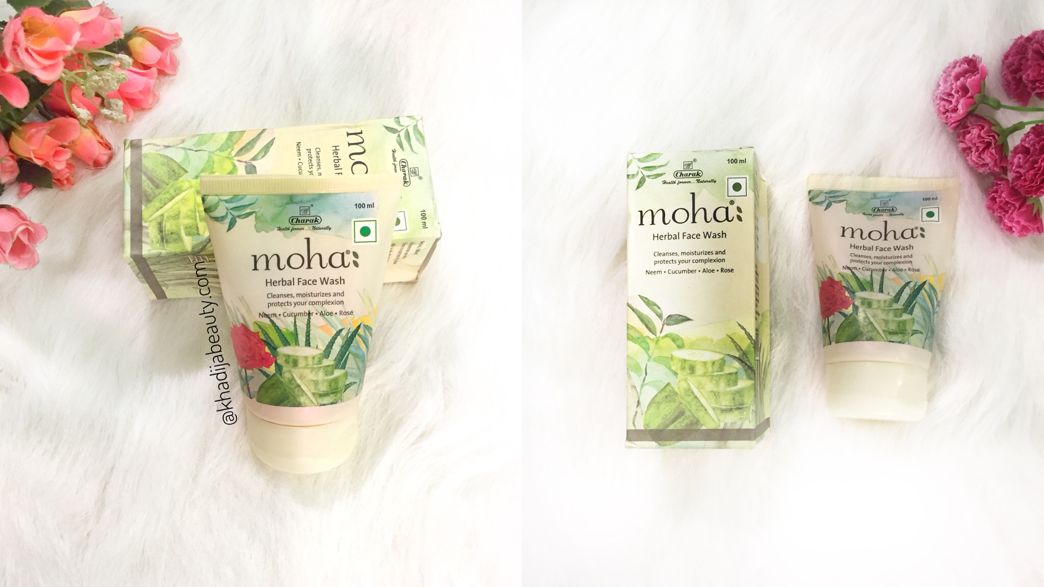 Moha Herbal face wash Review| Cleanses, Moisturizes & Protects complexion