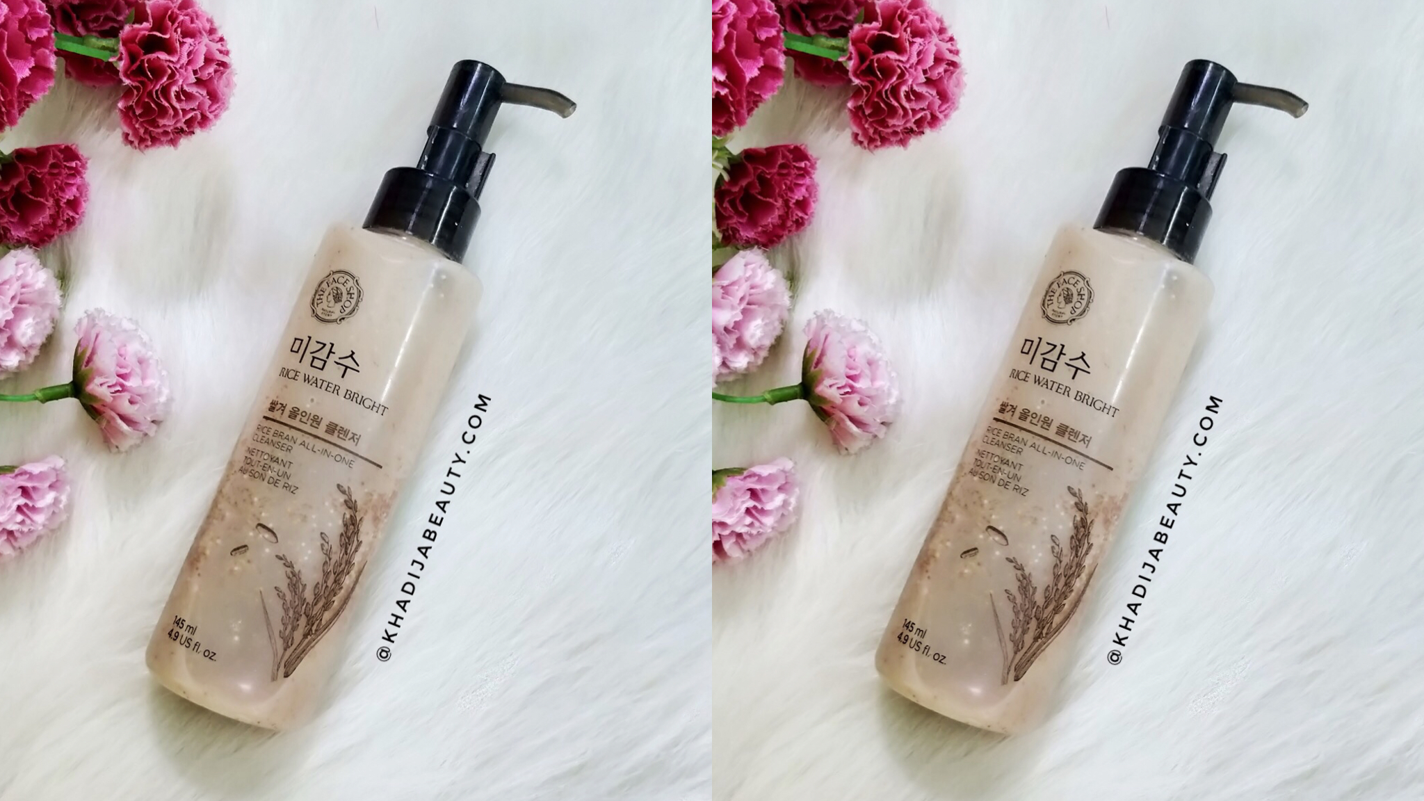 The Face Shop Rice Bran all-in-one cleanser Review | Bestseller