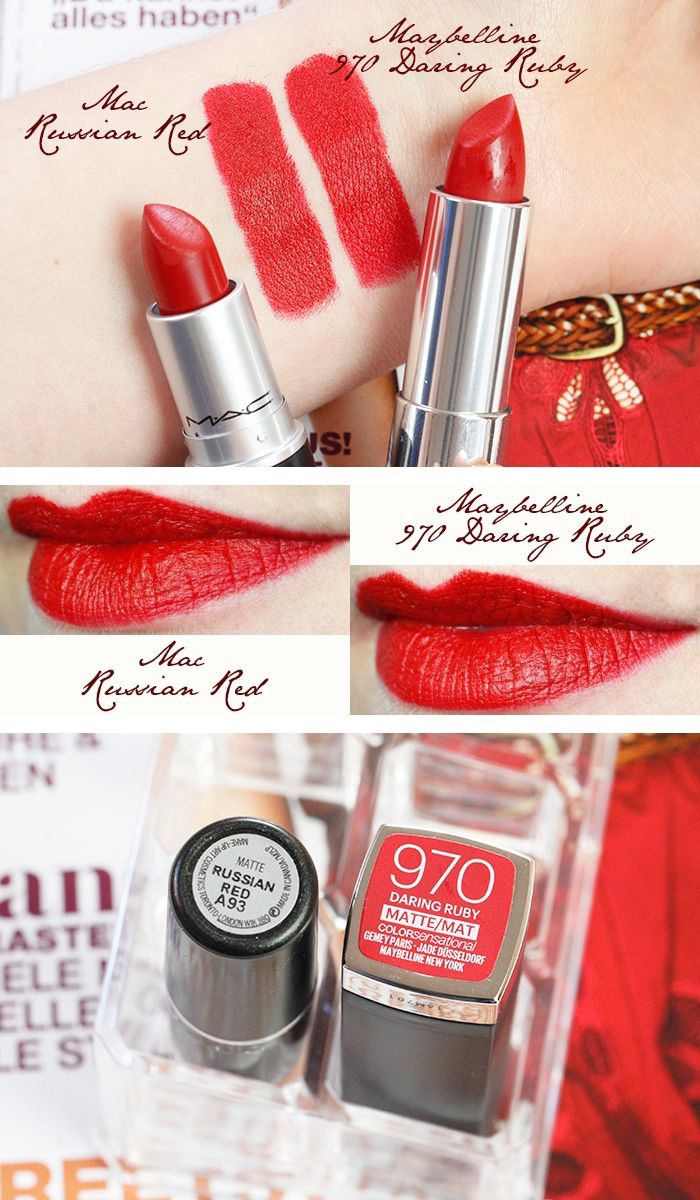 Mac Red Lipstick: 15 Best Selling MAC Lipstick Dupes You Need To Buy