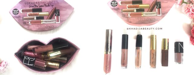 Sephora Favourites Give me some Nude lip,khadija beauty
