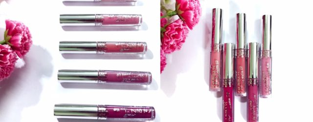 colorpop first day mini kit review and swatches, colorpop ulta matte lipstick, khadija beauty