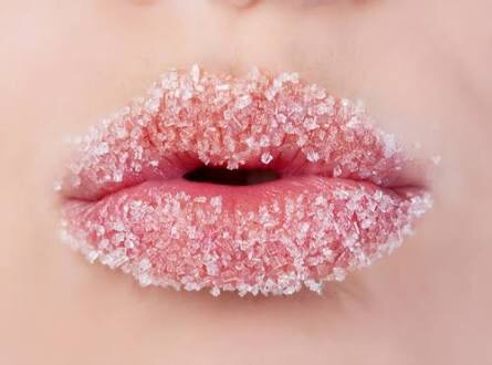 DIY lip scrub, khadija beauty