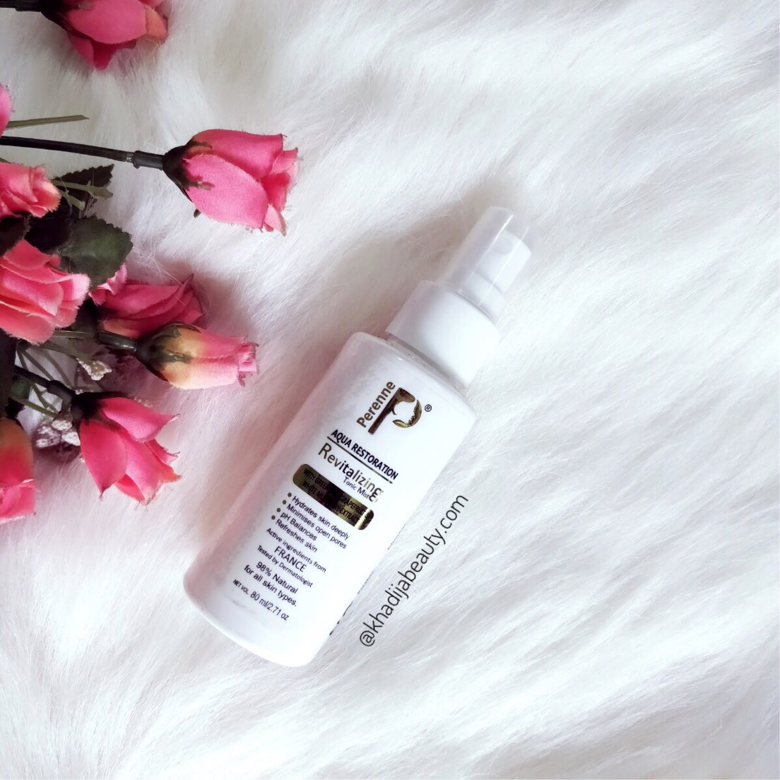 Perenne cosmetics face mist review