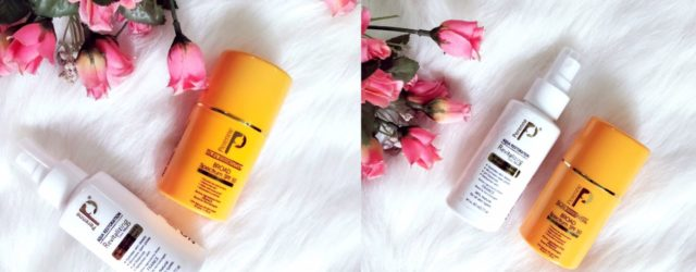 Perenne cosmetics sunscreen and face mist review, khadija beauty