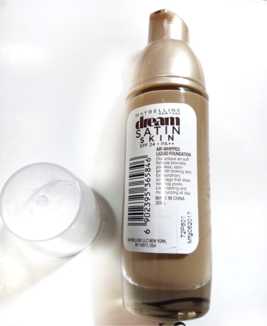 Maybelline New York dream Satin Skin Liquid Foundation