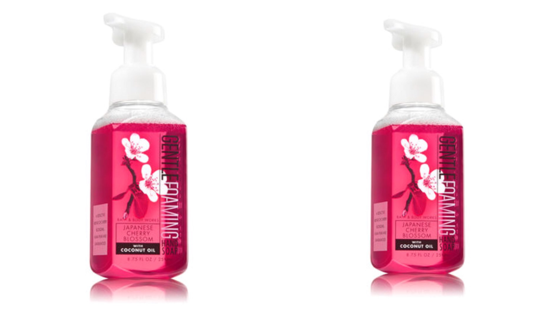 Bath and Body Works Japanese cherry blossom gentle foaming hand soap