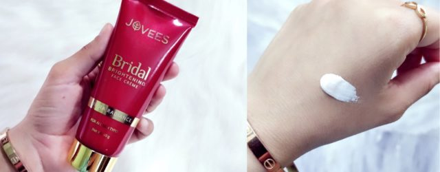 Jovees bridal brightening face creme review