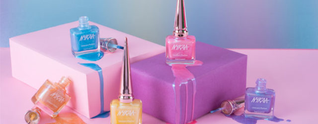nykaa unicorn potion nail enamel