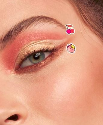 Maybelline lemonade craze eyeshadow palette eye makeup look