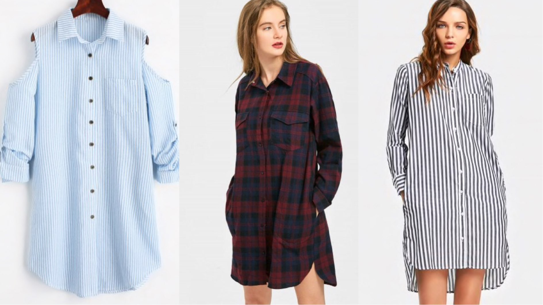 Dresses that can never go out of style, zaful shirt dress
